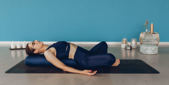 Yoga by Veronika, Yin Yoga, Badakonasana